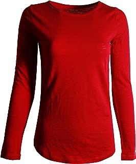 GAP Women's Long Sleeve Crewneck T-Shirt