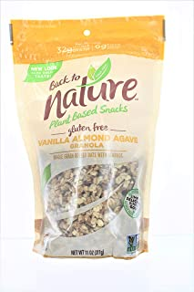 Back to Nature Vanilla Almond Agave Granola, 11 Ounce - 6 per case.