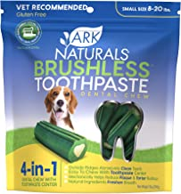 product image for Ark Naturals Brushless Toothpaste for Small Breeds, Vet Recommended Natural Dental Chews for Dogs,
