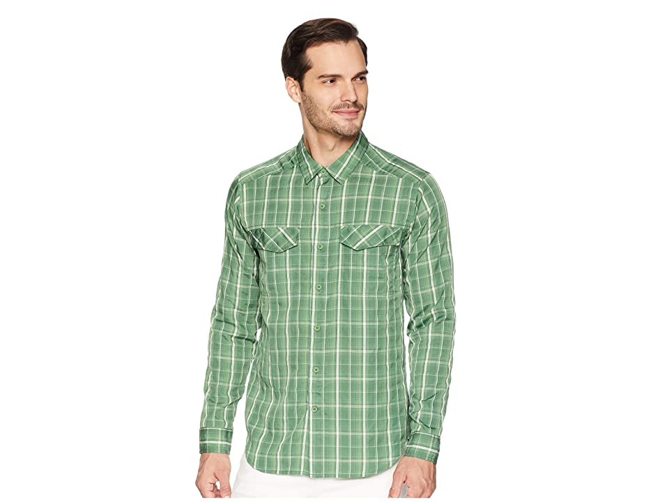 Royal Robbins Bug Barrier Ultra Light Long Sleeve Shirt (Elm Green) Men