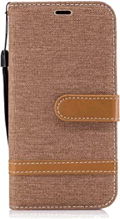 Shockproof Leather Flip Case for iPhone 11 Pro, Business Wallet Cover Compatible with iPhone 11 Pro Smartphone