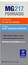 MG217 Psoriasis Multi Symptom Relief 2% Coal Tar Medicated Ointment - 4 oz Jar
