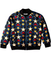 Stella McCartney Kids - Joan Star Bomber Jacket (Toddler/Little Kids/Big Kids)