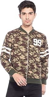 Alan Jones Men's Camouflage Cotton Zipper Sweatshirt