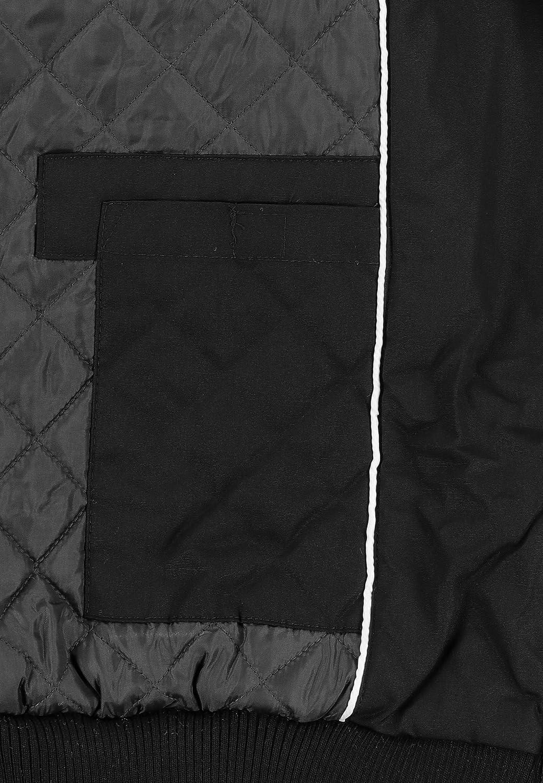 Sublevel Damen Winter-Jacke mit Kapuze warm gefüttert Schwarz