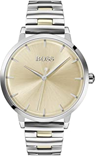 Hugo Boss Black Women'S Light Gold Dial Two Tone Stainless Steel Watch - 1502500