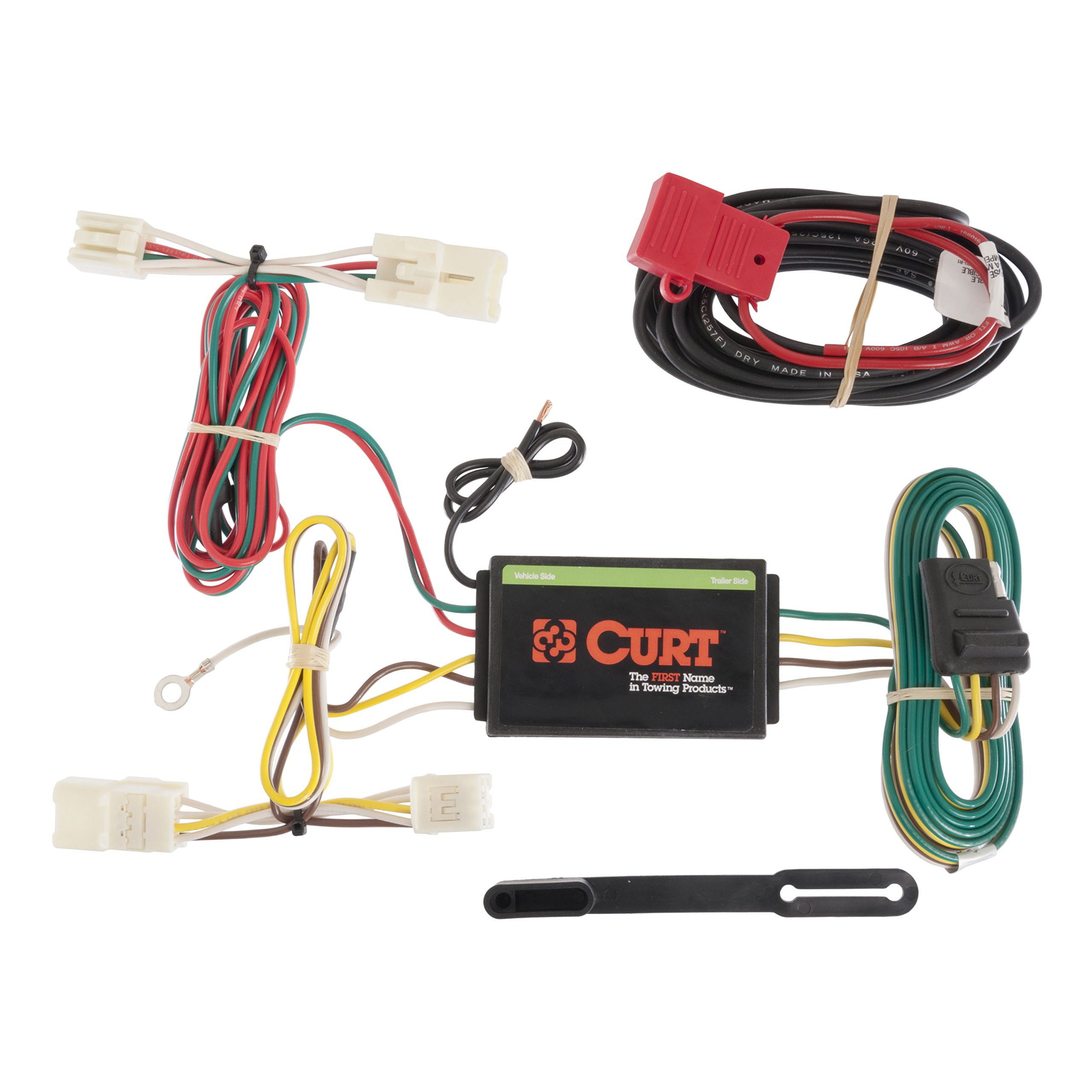 trailer wiring harness kit amazon comcurt manufacturing 56165 trailer connector