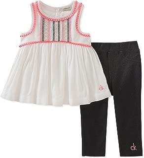 Calvin Klein 女童紧身套装