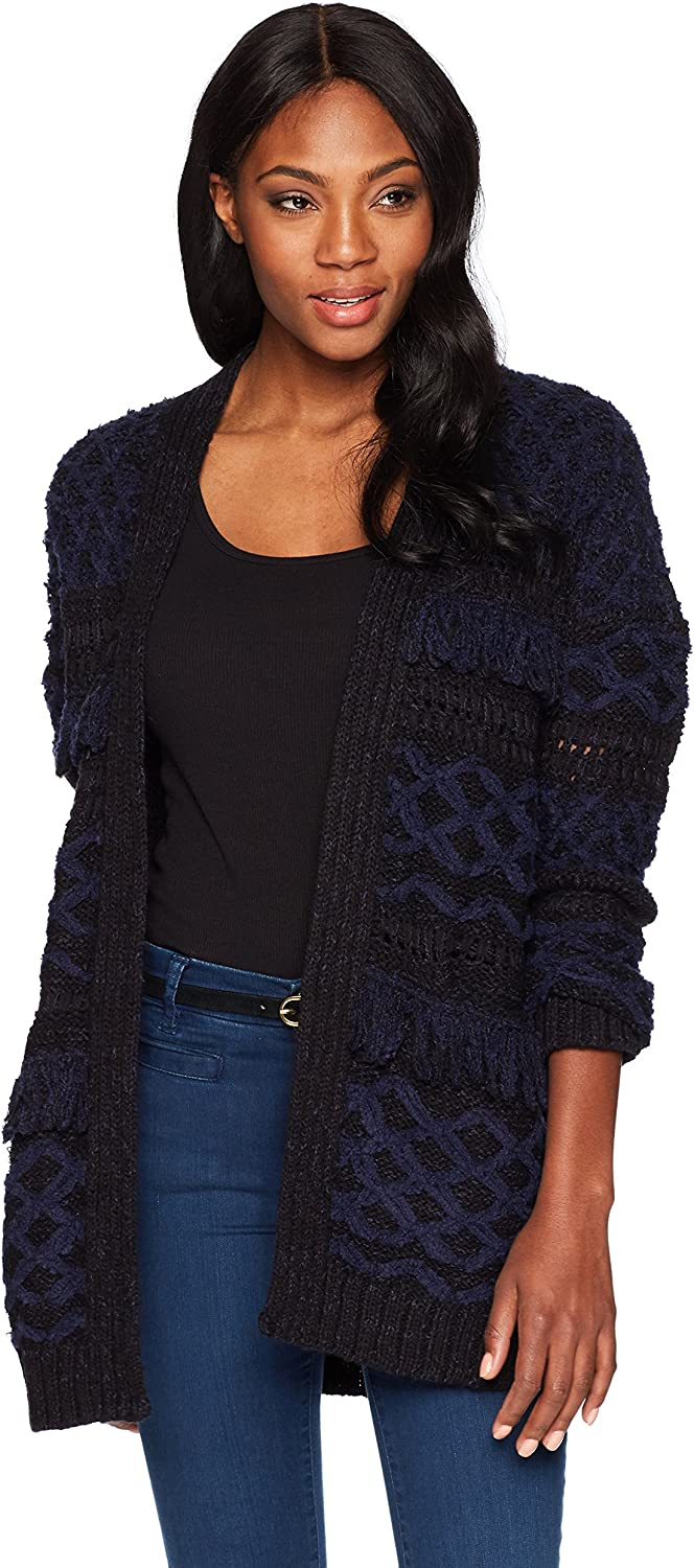 Lucky Brand Womens Stevie Cardigan Sweater Cardigan Sweater