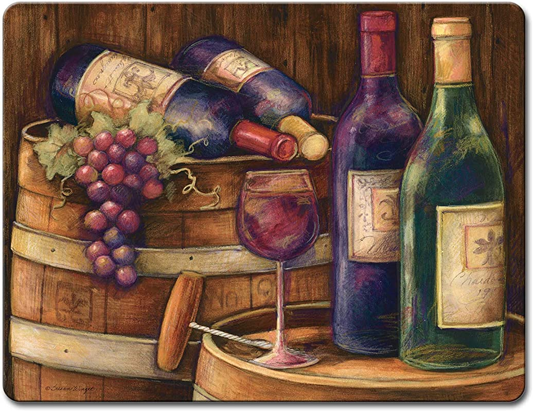 Wine Cellar Large Glass Cutting Board
