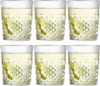 Libbey Trinkglas Carats - 355 ml / 35,5 cl - 6 Stück - spülmaschinenfest - hohe Qualität