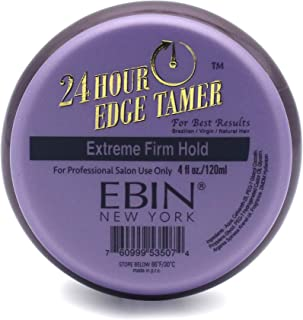 (120ml) - 24 Hour Edge Tamer - Extreme Firm Hold, No Flakes or Residue, 118ml