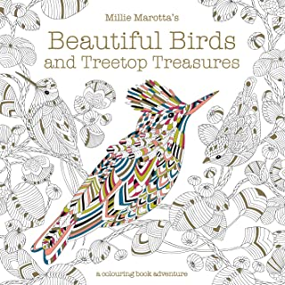 Millie Marotta's Beautiful Birds and Treetop Treasures: A Colouring Book Adventure: 10