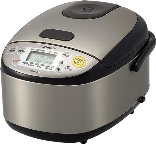 Zojirushi-NS-LGC05XB-Micom-Rice-Cooker-&-Warmer