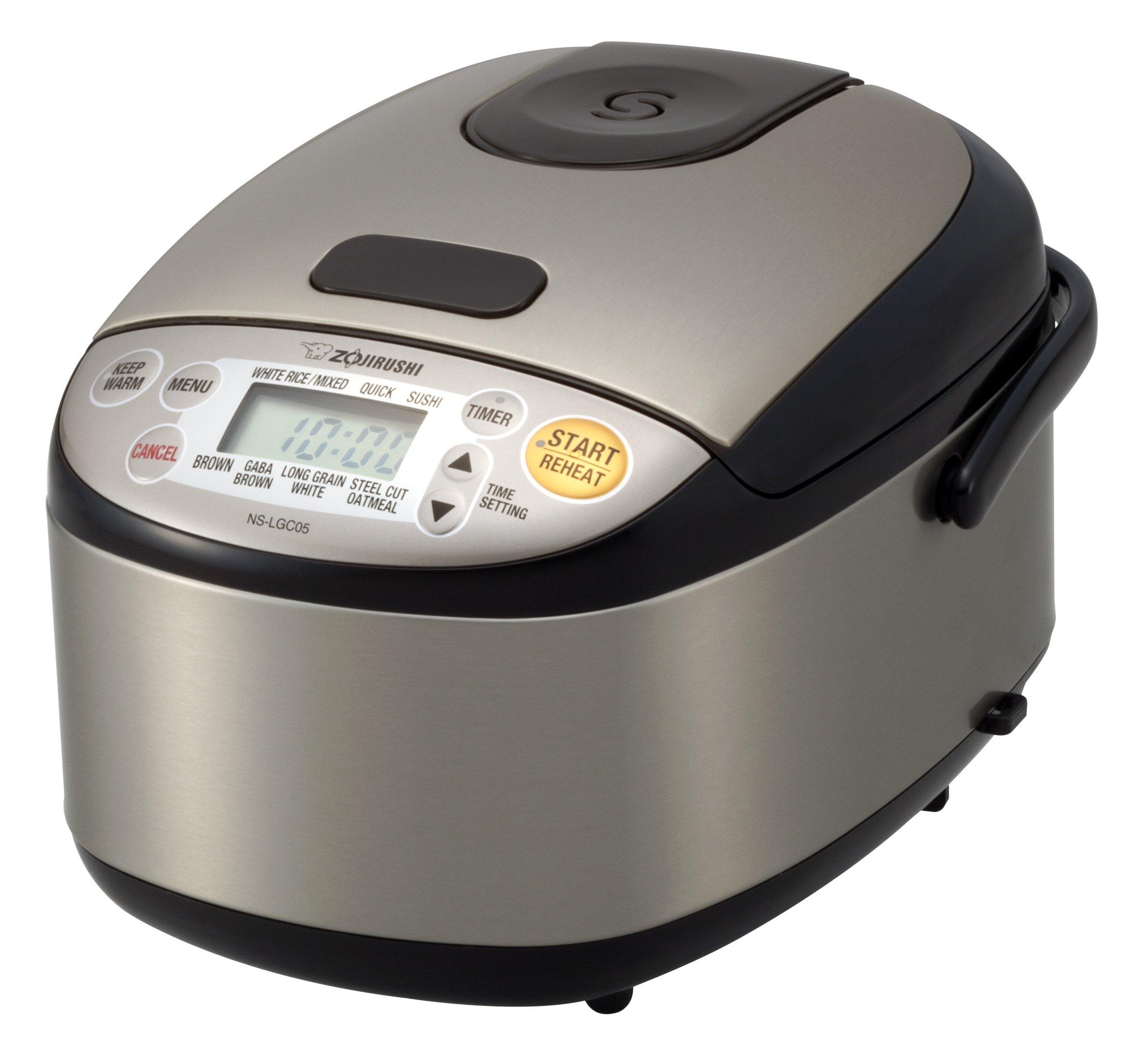 Zojirushi NS LGC05XB Cooker uncooked Stainless
