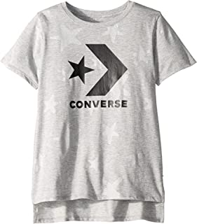 Converse Kids Womens Grafitti Star Chevron Knit Top (Big Kids) faf942e97