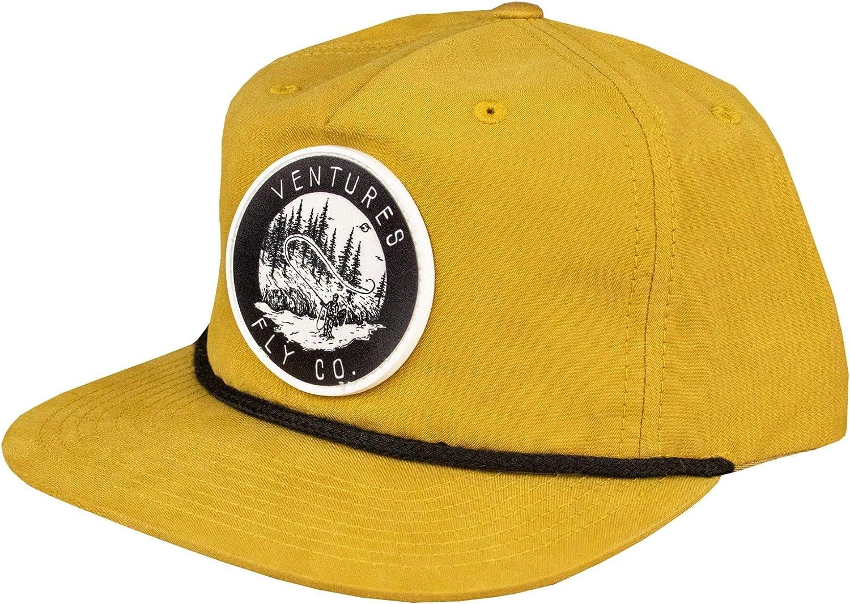 Adjustable Snapback Hat | Fly Fishing Accessories & Gear | Mesh Trucker & Flatbrim | Fish, Leather, Cap, Men, Women…