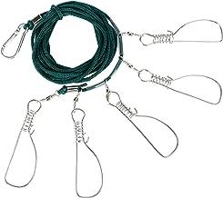 RUNCL Fishing Stringer Clip Stainless Steel, Kayak Fish Stringer, Fish Lock/Holder..