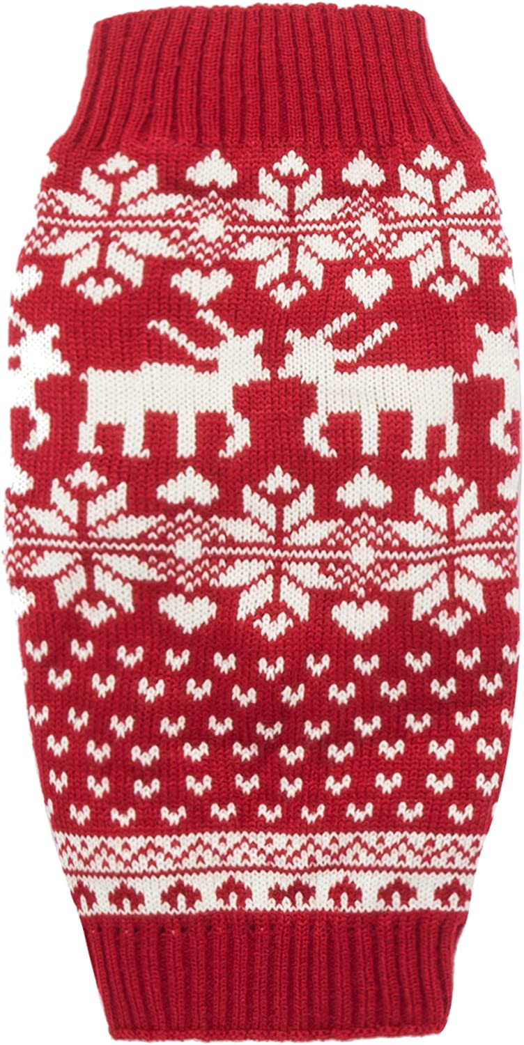 Lanyar Dog Reindeer Price reduction Holiday Pet Clothes Super Special SALE held Puppy K Dogs for Sweater