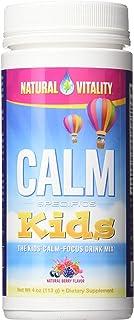 NATURAL VITALITY Drink Calm Focus Kid's, 4 Ounce