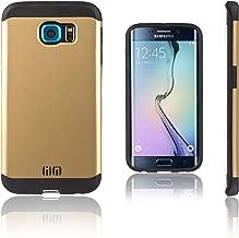 جراب Lilware Armor من البلاستيك الصلب TPU لهاتف Samsung Galaxy S6 Edge SM-G925F (لا يناسب Samsung Galaxy S6 and S6 Edge Plus)