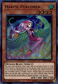 Yu-Gi-Oh! - Harpie Perfumer - LED4-EN001 - Legendary Duelists: Sisters of The Rose - 1st Edition - Ultra Rare