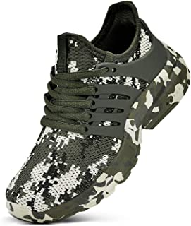 Boys Girls Shoes Tennis Running Lightweight Breathable...