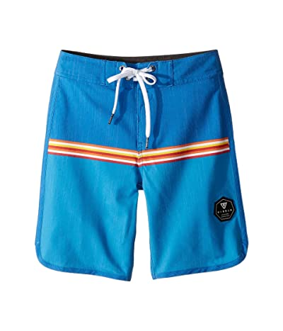 VISSLA Kids Dredges Boardshorts (Big Kids) (Royal Wash) Boy
