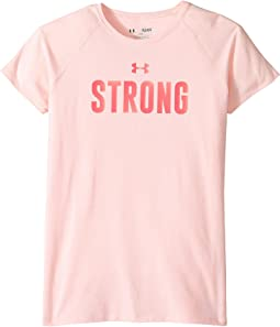 Under Armour Kids - UA Strong Short Sleeve Tee (Big Kids)