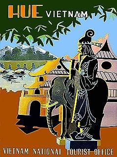 Rancheng Vue de Vinh Ha Long Aimants Frigo R/ésine Magnet Aimant de R/éfrig/érateur Souveni Touristique Vietnam Paysages