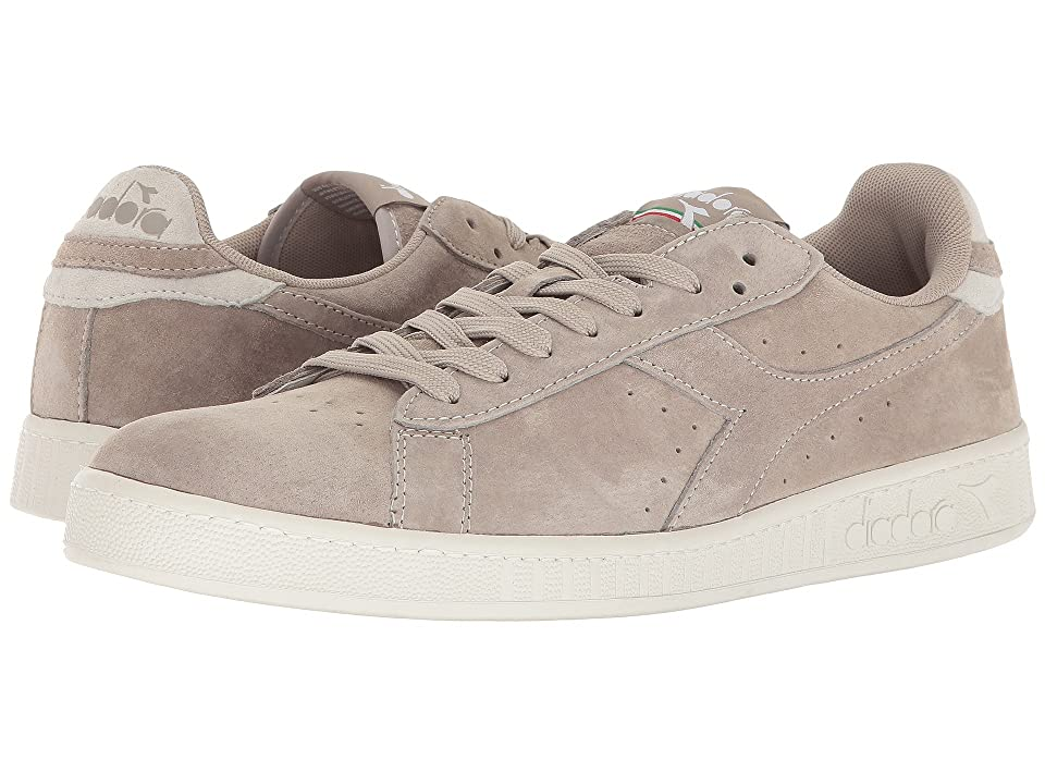 Diadora Game Low S (Gray Silver) Athletic Shoes