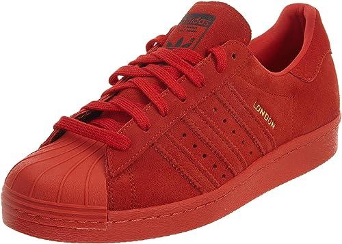 Adidas Hombre Superstar 80 Ciudad 13 Serie Roja