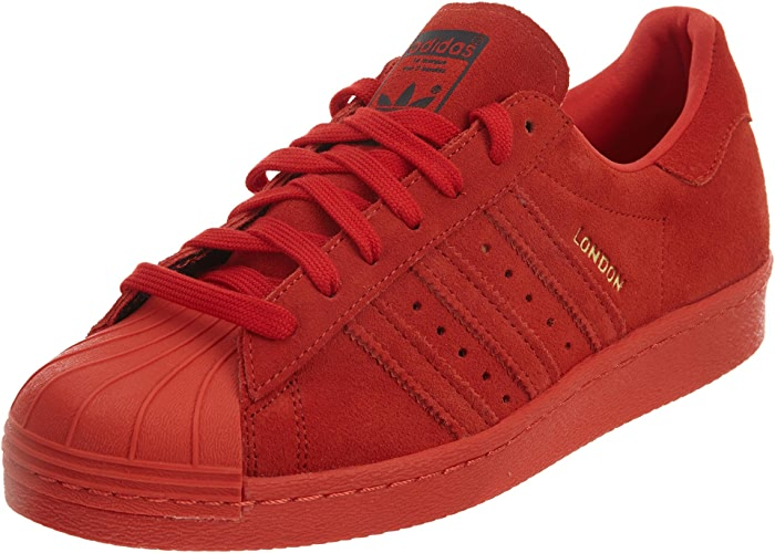 Adidas Mens Superstar 80s City Series rouge 13