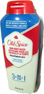 Old Spice High Endurance Conditioning Hair and Body Wash 18 Ounce, (Pack of 2)