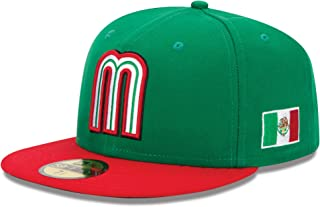 World Baseball Classic 2013 Mexico Official On-Field 5950 Fitted Cap, Green
