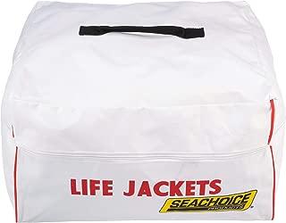 SEACHOICE 44990 Heavy-Duty 6-Capacity Life Jacket Nylon Storage Bag with Carrying Handles