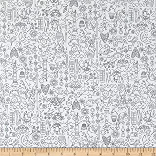 Andover Sun Print Light Collection Shadow Fabric by the Yard