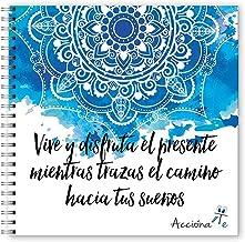 Libro para colorear de Mandalas - AcciónaTe Relax - papel de alta calidad sin manchas - más de 50 páginas - Incluye ebook