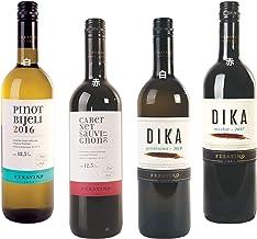 飲みやすいクロアチアワイン4種飲み比べセット – 辛口赤ワインx2本 辛口白ワインx2本 ― 箱買いヨーロッパ クロアチアワイン テイスティングギフトセット Croatian Dry Red White Wine Tasting Set ピノブランPinot Blanc | カベルネソービニヨンCabernet Sauvignon | グラスビナGrasevina | メルローMerlot 750ml