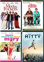 4 Memorable Characters, 1 Unforgettable Star! Ben Stiller Meet the Parents/ Meet the Fockers / There's Something About Mary / Secret Life of Walter Mitty (DVD Comedy Bundle/ Comedy Feature Films)