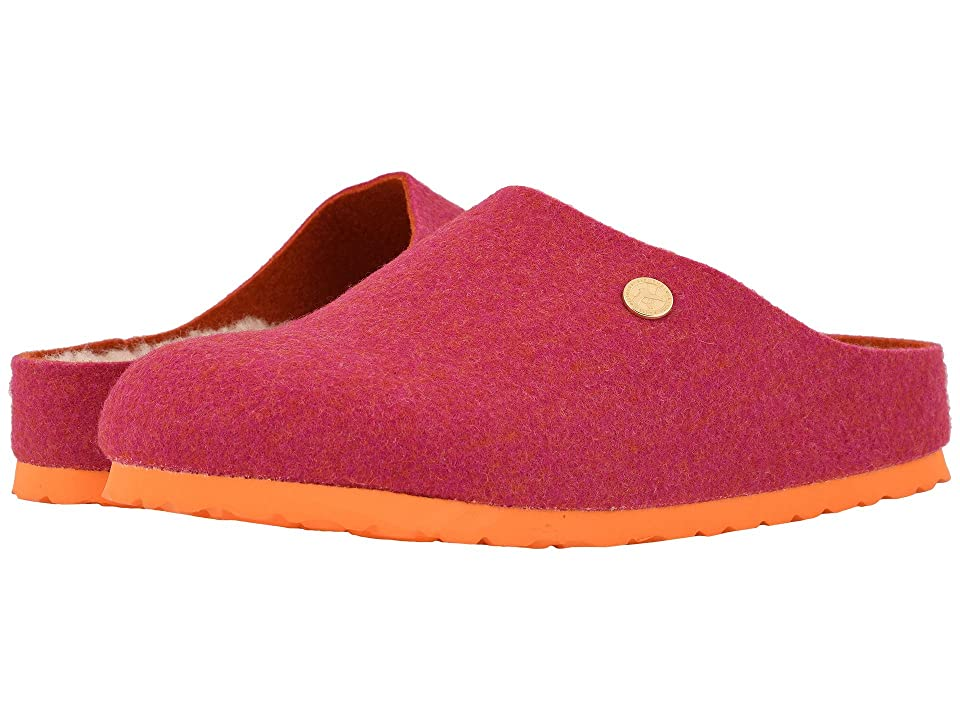 Birkenstock Kaprun Wool (Doubleface Fuchsia Wool/Happy Lamb) Clog Shoes