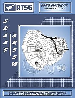 ATSG Manual de reparo de transmissão automática 5R55S/5R55W (transmissão 5R55S - kit de reconstrução de transmissão 5R55S...