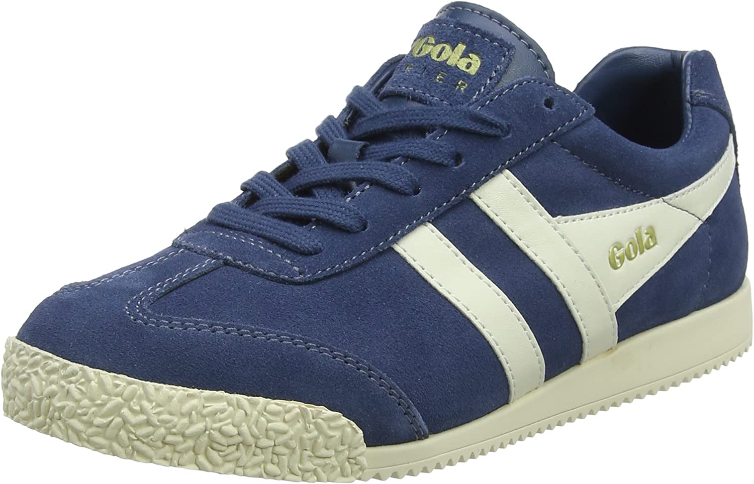 Gola Women Harrier Suede Baltic Off White Sneakers
