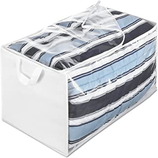 Whitmor Jumbo Storage Bag Zippered