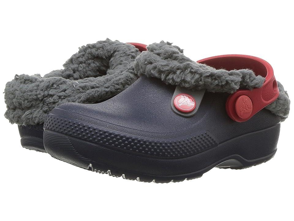Crocs Kids Classic Blitzen III Clog (Toddler/Little Kid) (Navy/Slate Grey) Kids Shoes