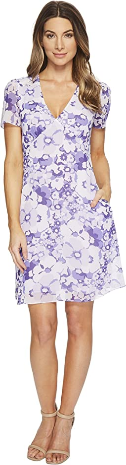 MICHAEL Michael Kors - Spring Floral V Dress