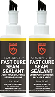 Gear Aid Seam Grip FC Fast Cure Sealant for Tents, Clear, 2 oz