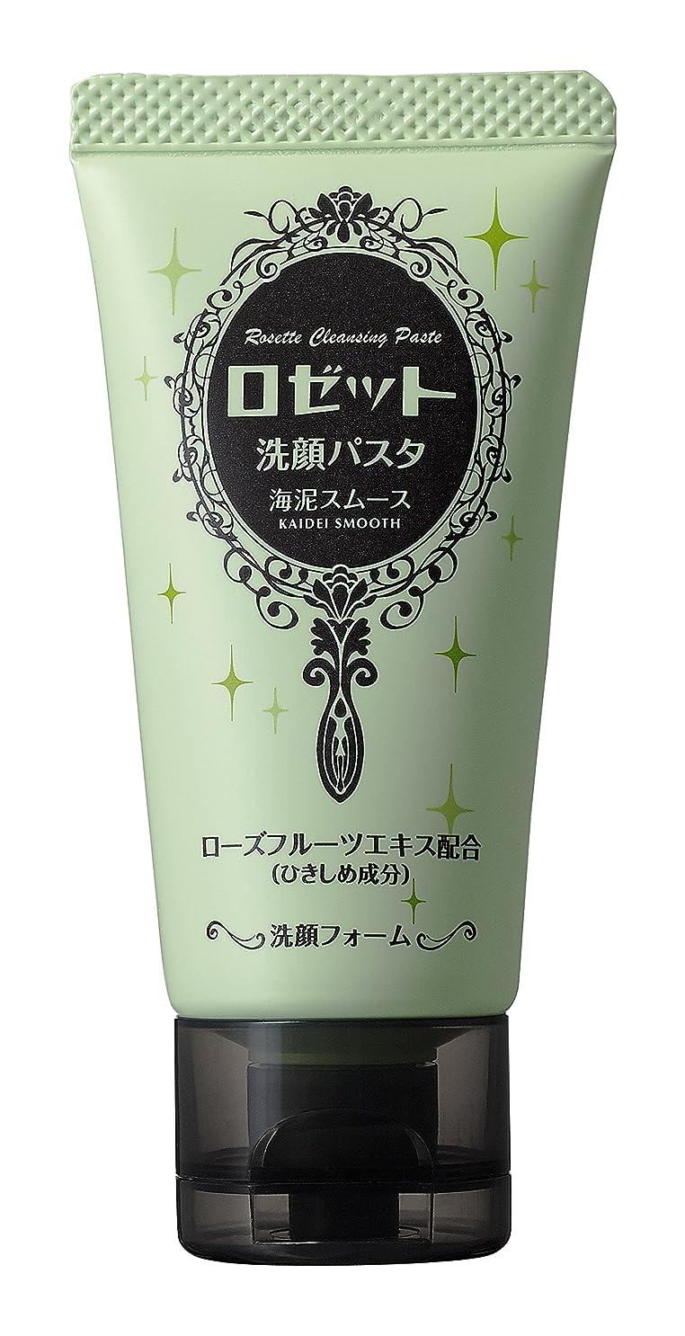 本物の敬意アプローチロゼット 洗顔パスタ海泥スムースミニ 30g