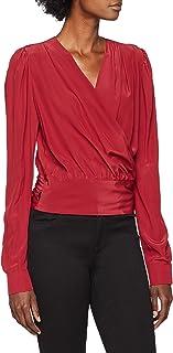 Pinko 女士 Basilio Blusa 绉纱 D 衬衫
