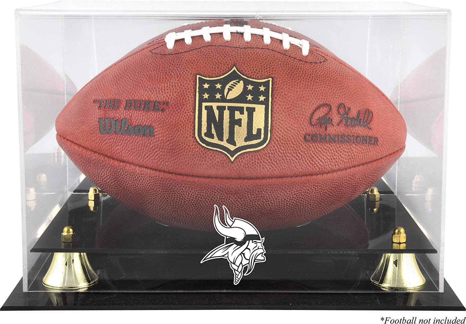 Minnesota Vikings Golden Challenge the lowest price of Japan ☆ New item Classic Football Display Mirr with Case